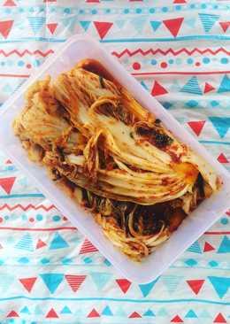 Homemade Baechu Kimchi