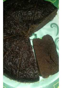 Brownies chocolatos kukus simpel (tanpa mixer)