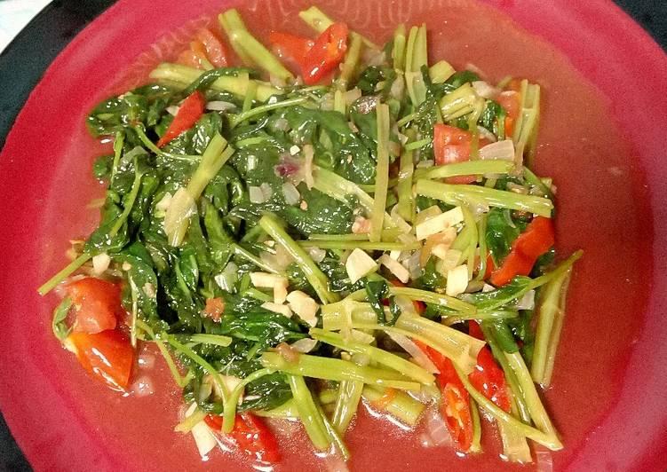 Resep Masakan Cah Kangkung Saus Tiram Nikmat dan Mudah