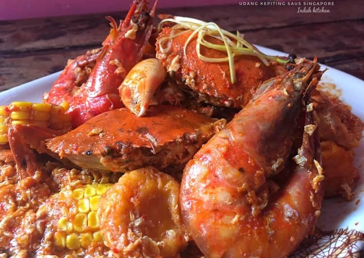 Udang Kepiting Saus Singapore