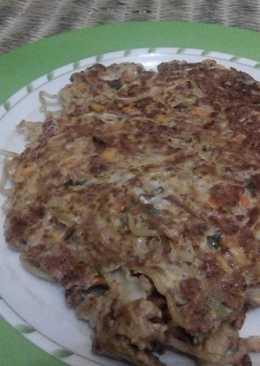 Omelet Mie Kornet