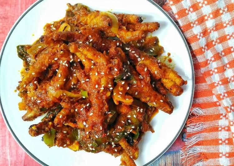 Ceker Ayam Dimsum Pedas Ceker Ayam Korea Pedas