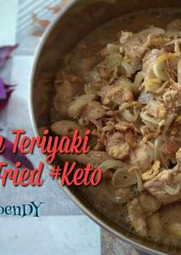 Chicken Teriyaki Garlic Fried Ekitchen #keto_cp_ekitchen