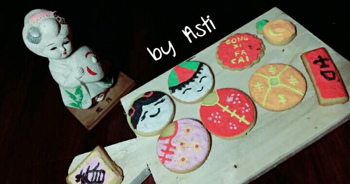 Resep Cookies imlek