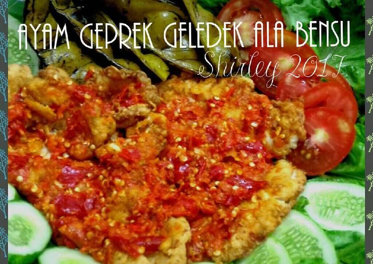 Resep Ayam Geprek Bensu Copd Blog L