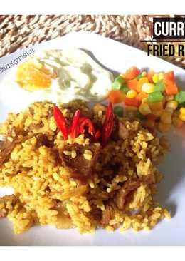 Curry Fried Rice (nasi goreng kari)