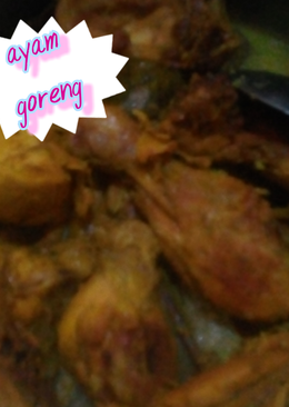 Ayam goreng simple
