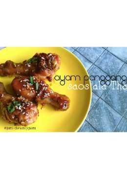 Ayam panggang saos ala Thai