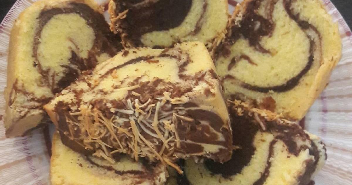 Resep Cake Jadul Sederhana: 905 Resep Cake Marmer Lembut Enak Dan Sederhana