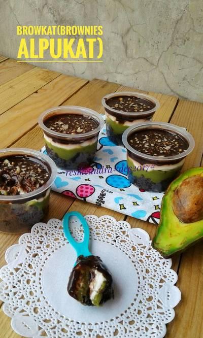 Browkat aja#brownies alpukat#