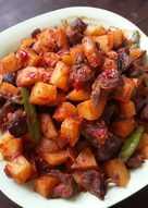 Balado ati ampela kentang