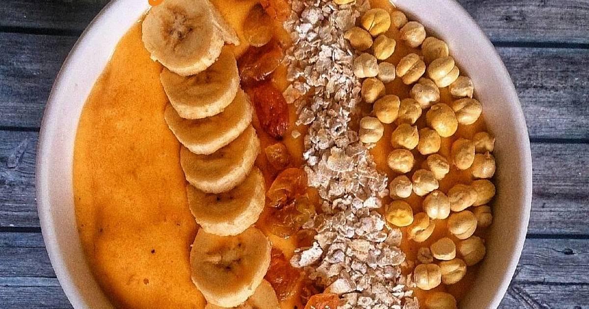 Oatmeal Banana Strawberry Smoothie Bowl yang Cocok untuk Diet