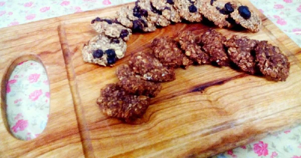 Resep Banana Oat Cookies