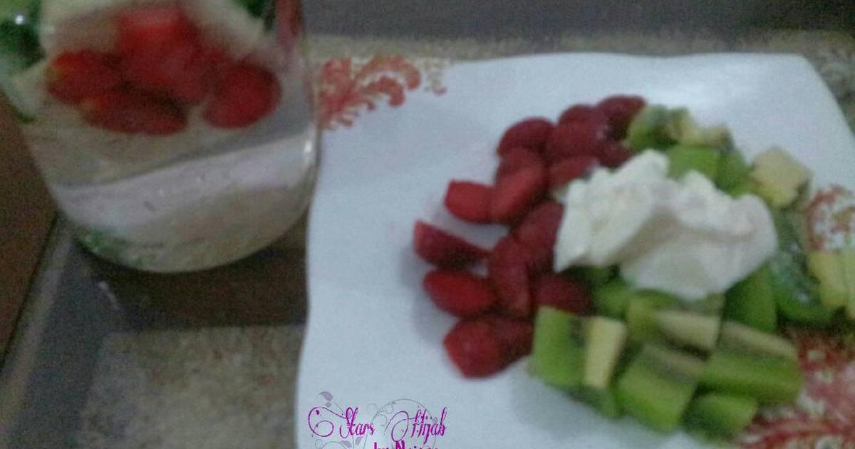 Resep Camilan sehat & infused water