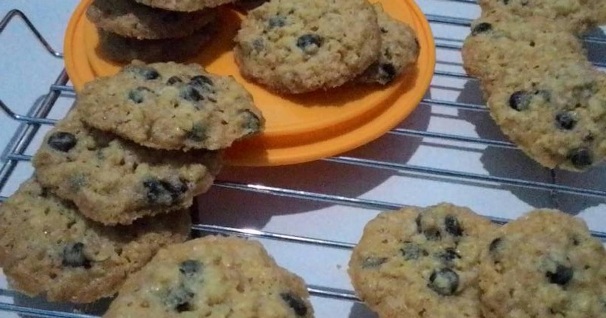 Resep Oatmeal crispy cookies,super enak dan sehat