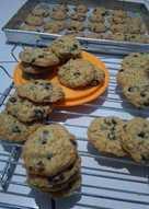 Oatmeal crispy cookies,super enak dan sehat