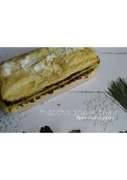 Matcha Snow Cake