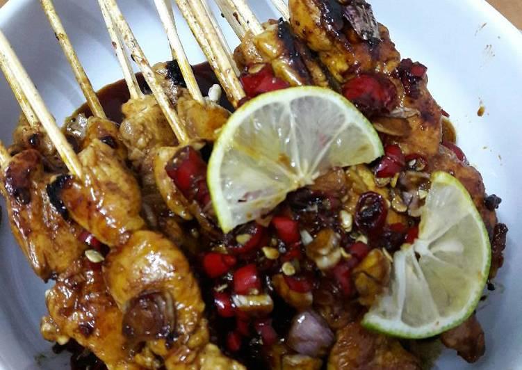 Resep Sate Ayam Bumbu Kecap Pedas By SiangYin