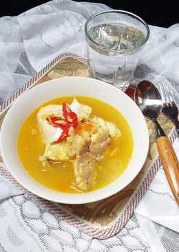 Ikan kakap kuah kuning #menuanak