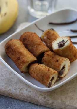 Fried Banana (Chocolate Filling)