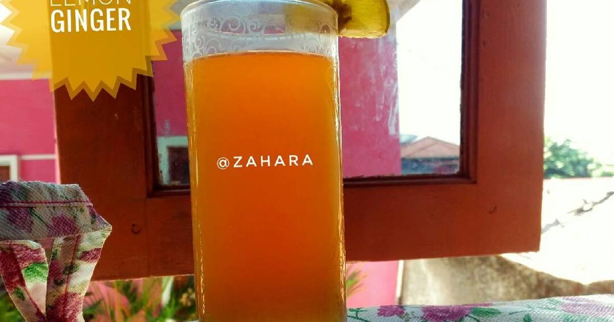 Manfaat Lemon Jahe