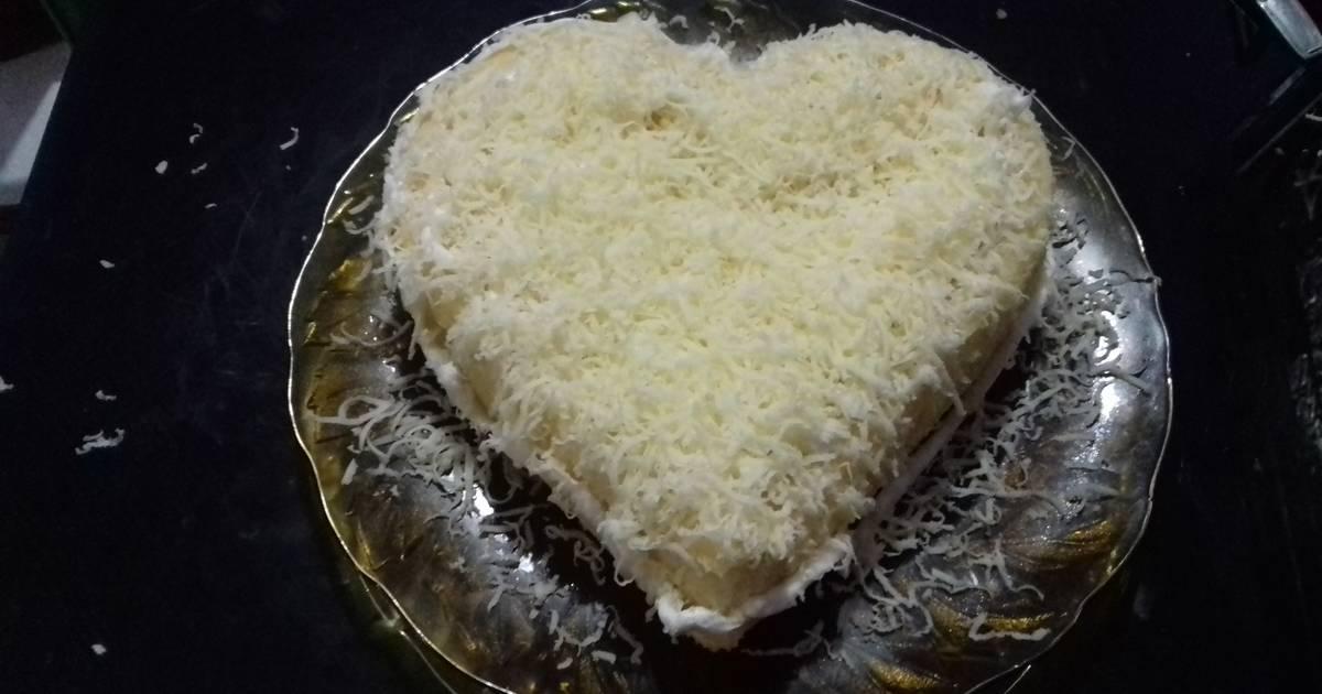 Resep Chesee cake kukus super lembut untuk pemula