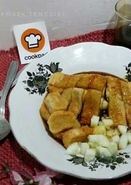 Pempek tenggiri (#pr_homemadestreetfood)