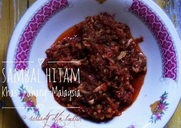 Sambal Hitam Khas Pahang