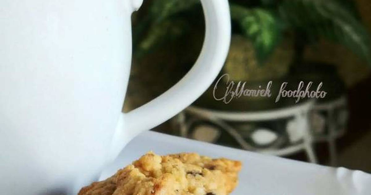 Resep Oatmeal Choco Cookies