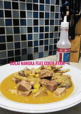 Gulai Nangka feat Ceker Ayam