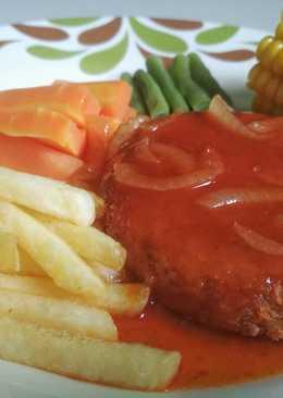 Ingin Melihat Resep Steak Tempe Pedas Manis Terpopuler