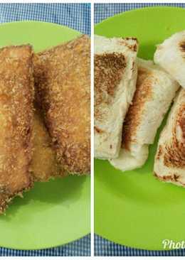 Roti Tawar isi ala Kebab