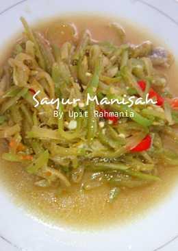 Sayur Manisah simple