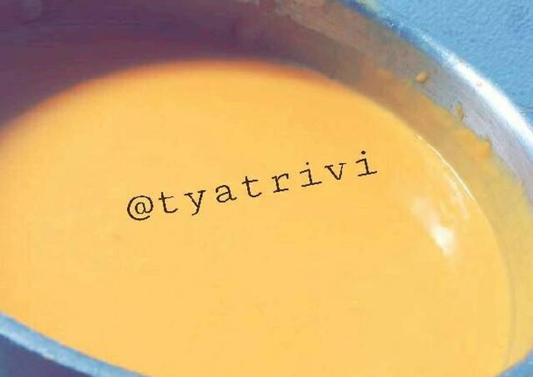 Resep Cheese Sauce Ala Richeese (saus keju) Dari Tya Trivi