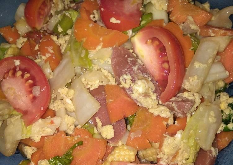 gambar untuk resep makanan Capcay goreng sederhana