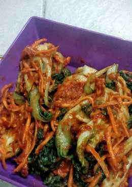 Gat kimchi (kimchi sawi hijau)