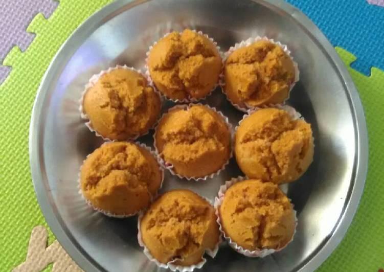 Resep Cake Kukus Gula Palem: Resep 04. BoLu Kukus Gula Merah Oleh Yayuk Wahyuu