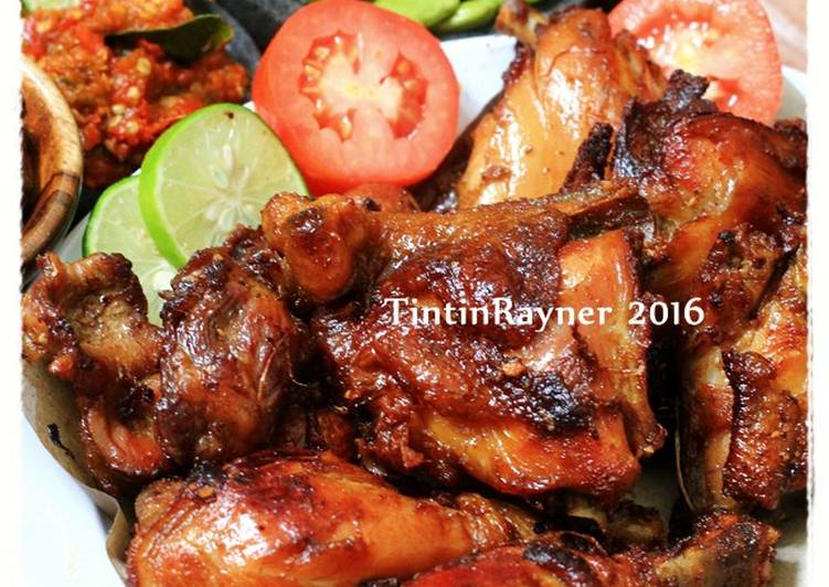 Ayam Goreng Manis Berempahlegit