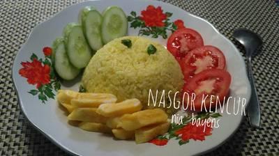 Nasi goreng kencur favorit abah😘(#pr_nasigoreng)