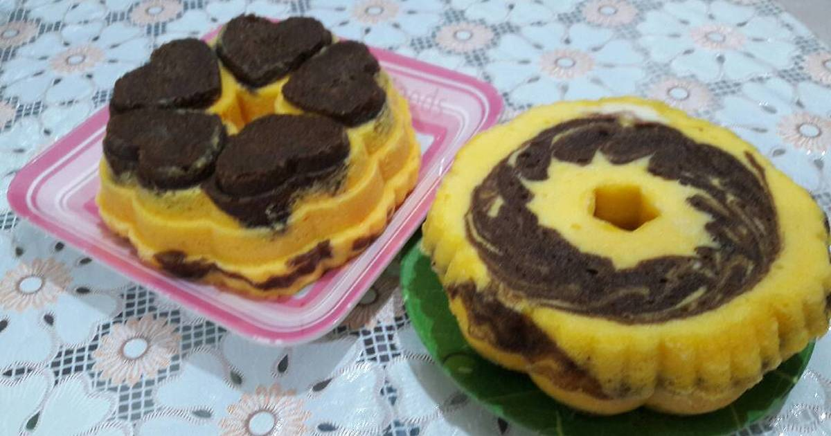 Resep Cake Jadul Sederhana: 105 Resep Marmer Cake Kukus Enak Dan Sederhana