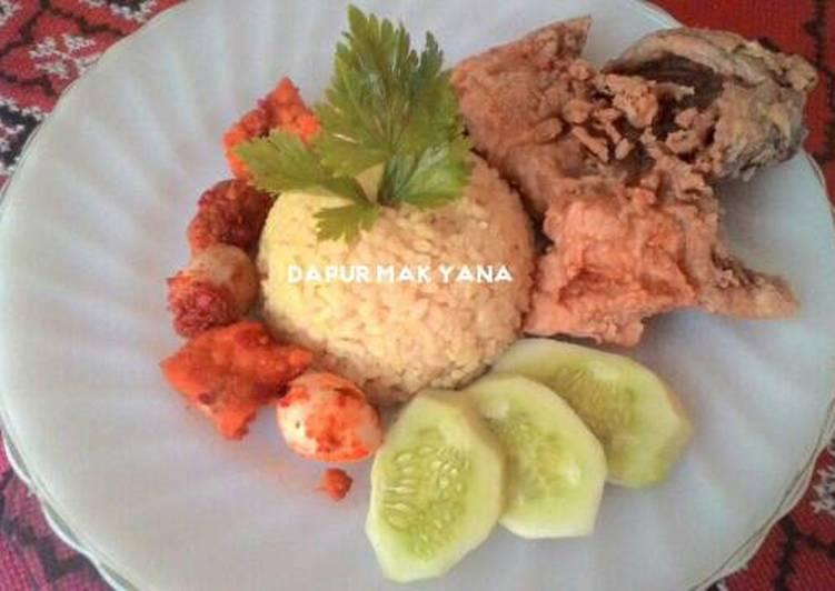 Resep Nasi Kuning Karya Yana Medina Ciko