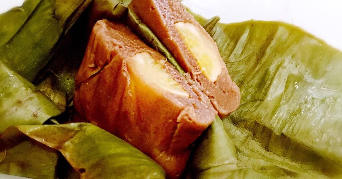 Resep Nagasari pisang coklat