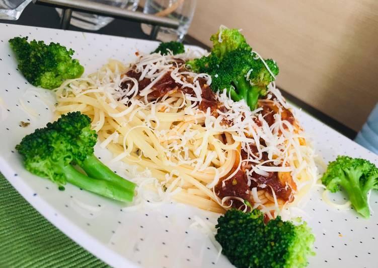 Resep Spaghetti Siap Saji