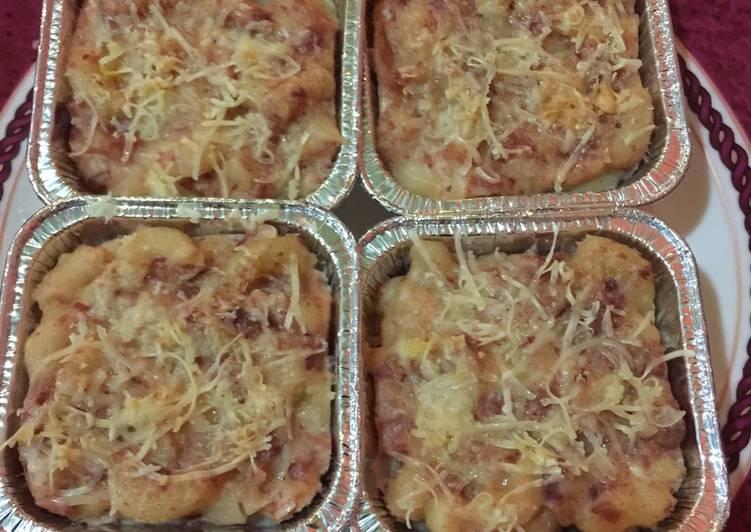resep lengkap untuk Macaroni schotel