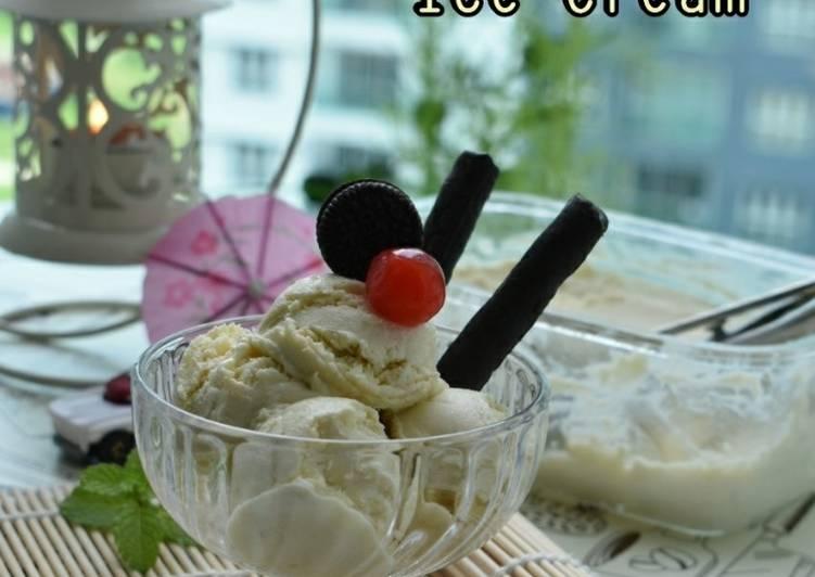 3 ingredients durian ice cream