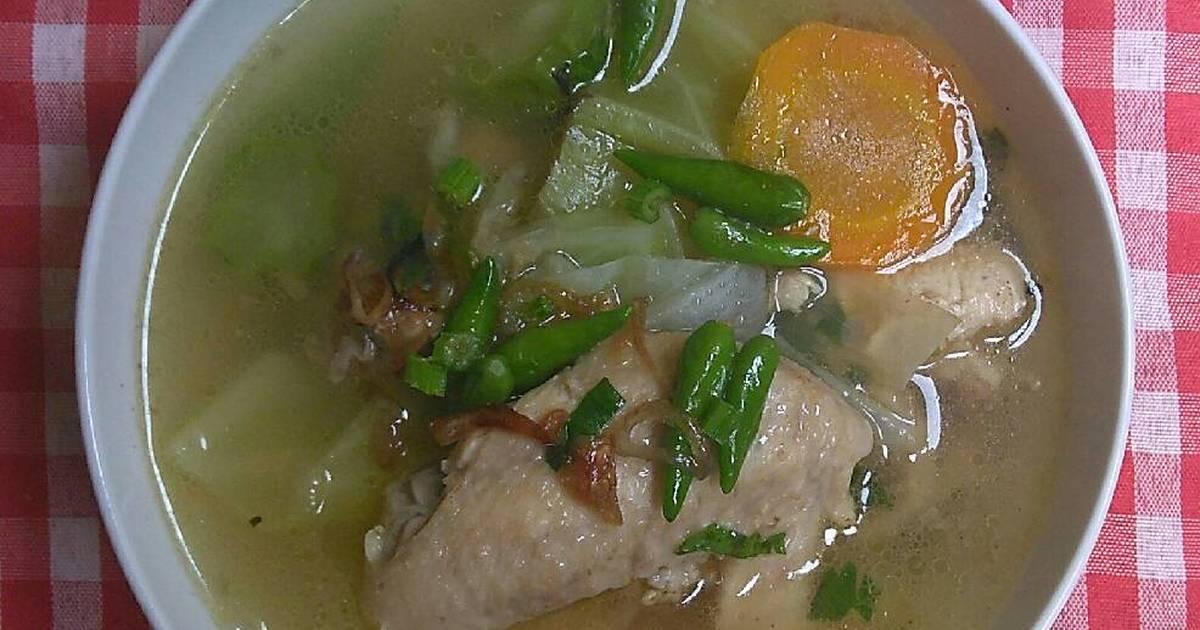 259 resep sup ayam pedas enak dan sederhana   cookpad