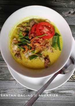 Soto daging sapi (santan)