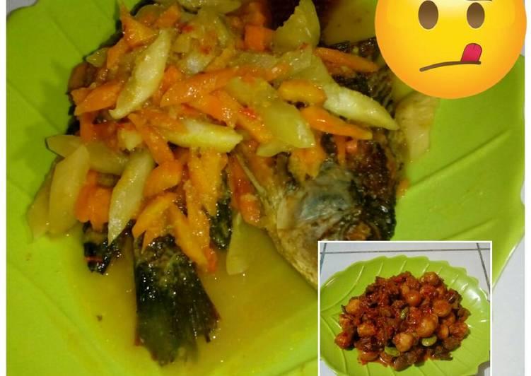 Resep Acar mujaer dan telur puyuh spesial Dari dzifah_abira