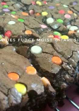 Brownies Fudge Moist