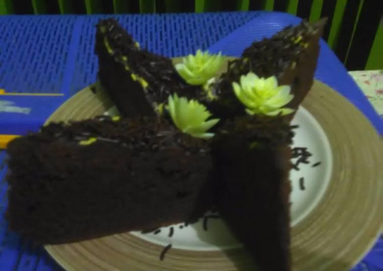 Resep Brownies coklat kukus nutrijel lembut oleh Mama Rakha Resep Brownies coklat kukus nutrijel lembut - Mama Rakha
